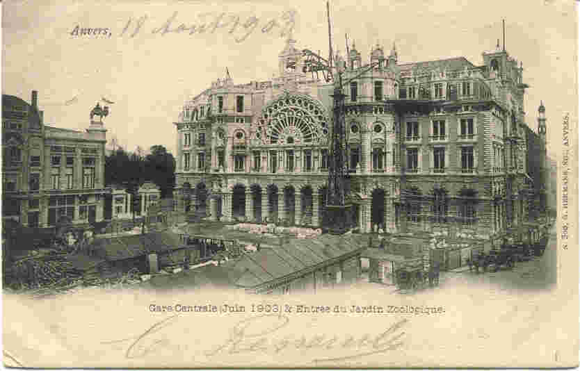 1903, Centraal Station, Astridplein, kameel