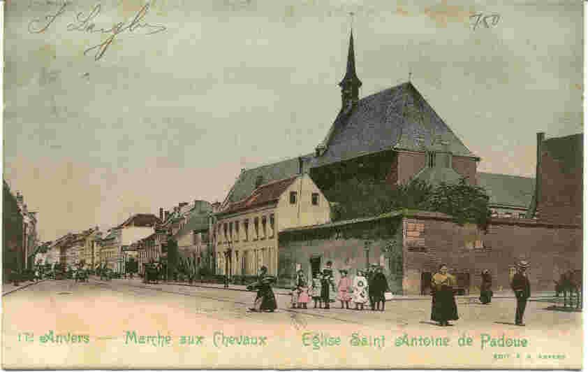 Paardenmakrkt, 100m verder is het Hessenhuis