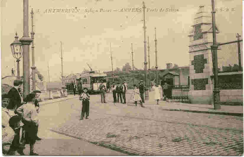 Schijnpoort, vlakbij de POThoekstraat