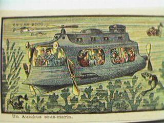 Un autobus sous marin