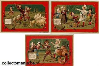Chromo Trade Card ABM_MI_81 Don Quichotte