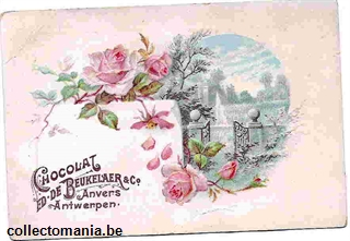 Chromo Trade Card Beukelaer