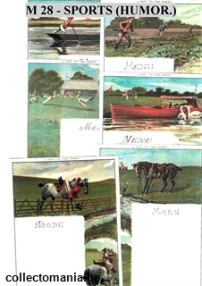 Chromo Trade Card M28 Amusing Scenes in Sport