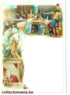 Chromo Trade Card M47 Banquets