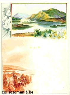 Chromo Trade Card M62 Views of Scotland