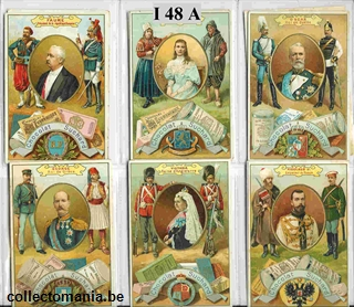 Chromo Trade Card SucI048 Rulers of Europe (21 cards)