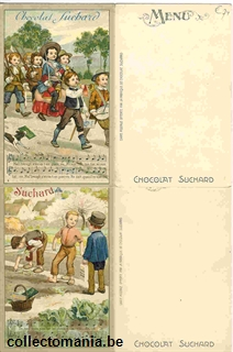 Chromo Trade Card SucII015b French Songs (12)