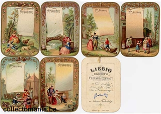 Chromo Trade Card T4 *Various Scenes I 1889