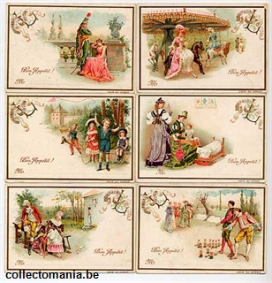 Chromo Trade Card T5 Various Scenes II 1893